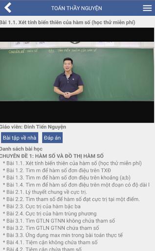 Toán Thầy Nguyện screenshot 3