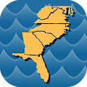 Stream Map USA - Southeast icon