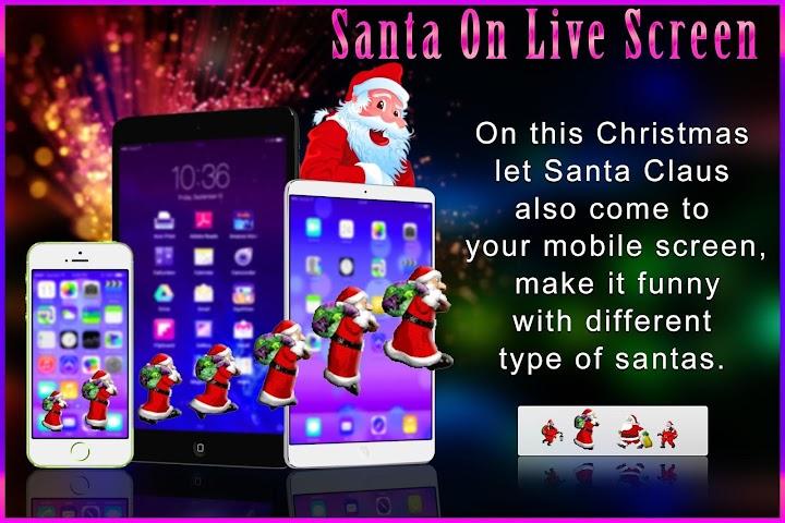 android Santa On Live Screen Screenshot 5