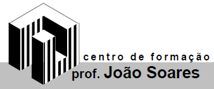 Logo Centro de Formação prof. João Soares - Parceiro do 1º Encontro de Educação Positiva