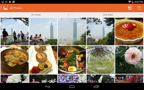 abPhoto (photo backup) - screenshot thumbnail