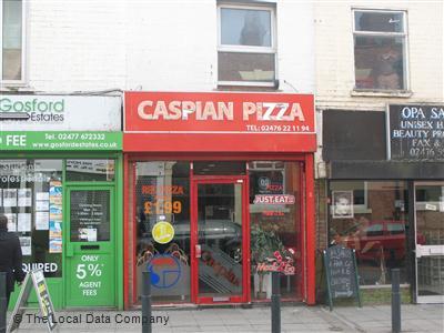 Caspian Pizza On Far Gosford Street Pizza Takeaway In Town