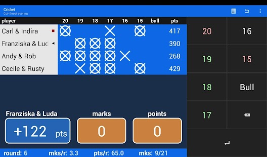 Darts Scoreboard- screenshot thumbnail