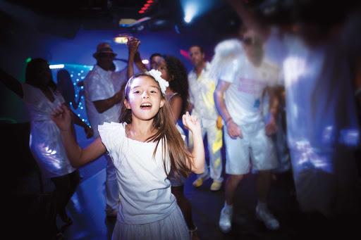 norwegian-bliss-family-white-hot-party.jpg -  Family fun at a White Hot Party aboard Norwegian Bliss.