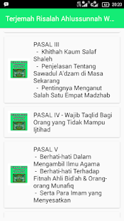 Terjemah Risalah Ahlussunnah Wal Jama'ah - náhled