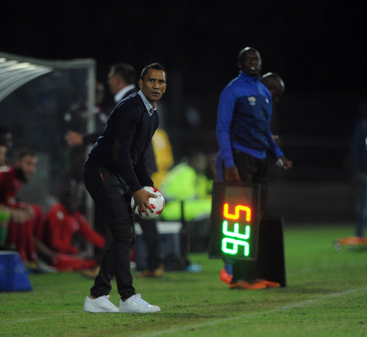 Maritzburg United coach Fadlu Davids is a contender for Absa Premiership and Nedbank Cup coach of the season award.