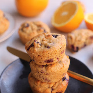 Fluffy Blueberry Orange Muffins Recipe