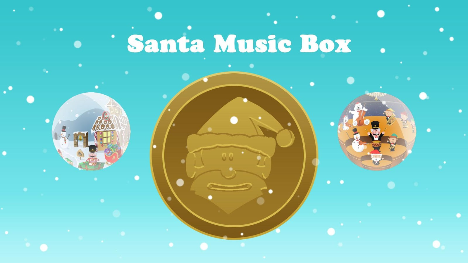 Santa Music Box- screenshot