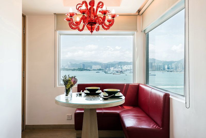 Dining space at Sai Wan apartment