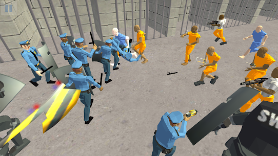 Battle Simulator: Prison & Police  Apk Download For Android and Iphone 1