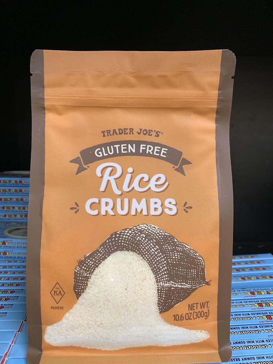 Gluten Free Rice Crumbs