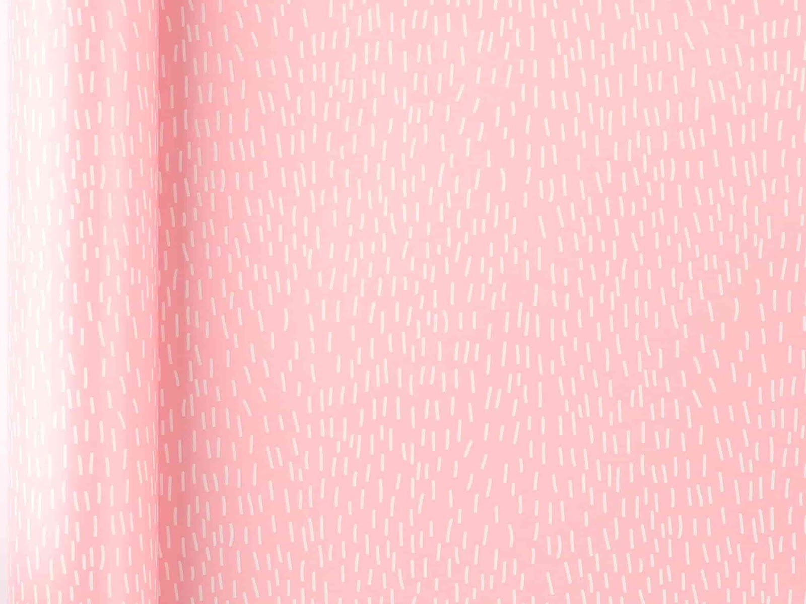 Elegant Wedding Gift Wrapping Ideas; Clintons Baby Pink Dash Roll Wrap
