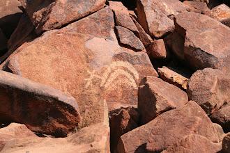 Photo: Aboriginal Petroglyphen