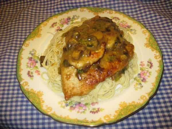 Chicken Marsala With Brown Butter Pasta Recipe