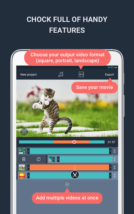 Clip&Go - Video Editor Free- screenshot