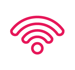 Gigabit leased line internet and high-speed WiFi