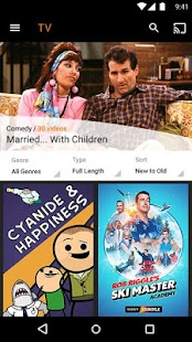 SonyCrackle–Free TV & Movies Screenshot