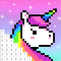 Pixel Color - Color by Number, Pixel Art icon