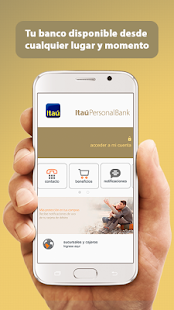 Itaú Personal Bank Chile - náhled
