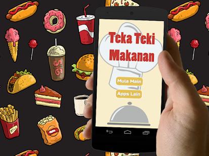 Teka Teki Makanan- screenshot thumbnail