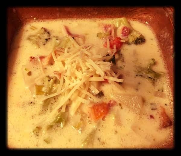 Parmesan Potato And Broccoli Soup Recipe