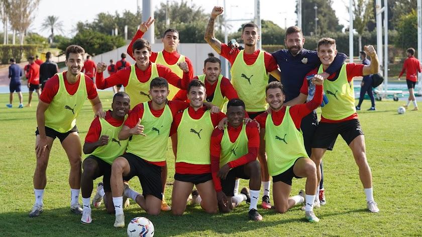 El equipo ganador del torneo este jueves en el Anexo.