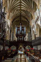 Photo: Exeter Cathedral - organ and Sanctuary. Captured @ Exeter, Devon, England, United Kingdom