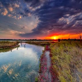 Sunset by Mihail Marzyanov - Landscapes Sunsets & Sunrises
