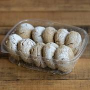 Coffee Cardamom Tahini Cookies