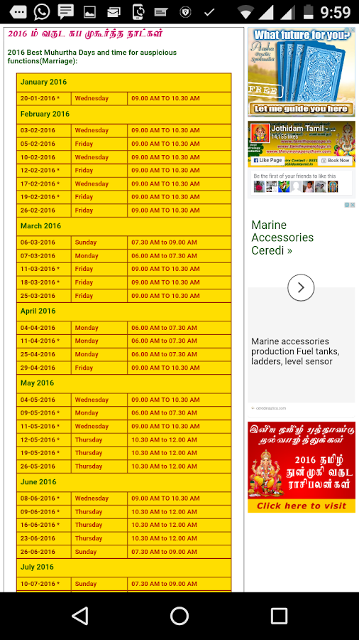 Online tamil horoscope by date of birth in Sydney