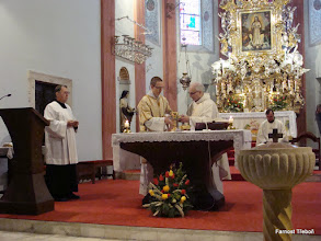 Photo: Mše svatá v kostele Nanebevzetí Panny Marie