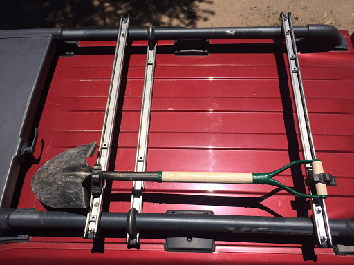 Unistrut Superstrut Crossbars And Rotopax Roof Mount