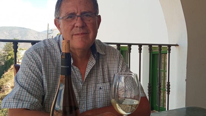 Diego Ortega, propietario de la Bodega Pagos de Indalia.