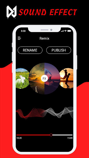 Sound Effect DJ - DJ Name Mixer App Report on Mobile Action