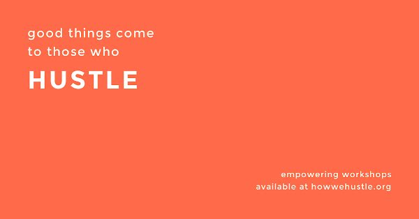 Those Who Hustle - Facebook Event Cover Template