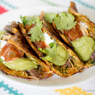Zucchini Taco Shells.