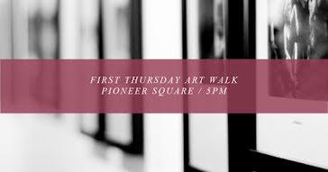 First Thursday Art Walk - Facebook Event Cover template