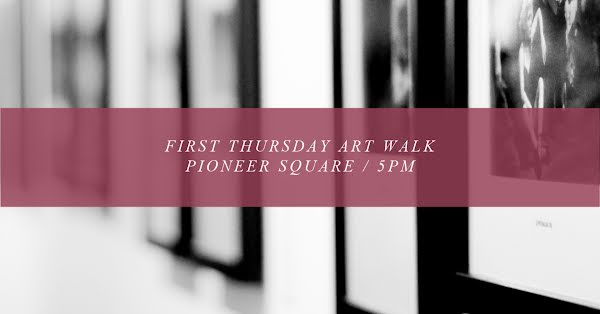 First Thursday Art Walk - Facebook Event Cover Template