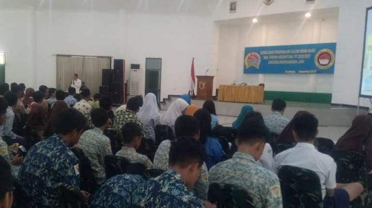 Penerimaan sisa SMA Taruna Nusantara