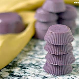 Blueberry Gelatin Gummie Bites.