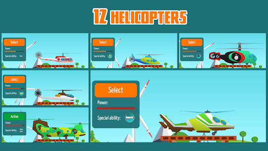 Go Helicopter 2.5 MOD (Unlimited Money) 4