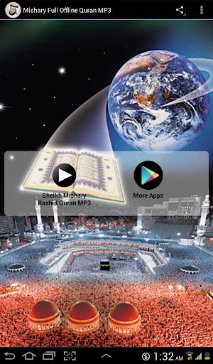 Mishary Full Offline Quran MP3 3 Apk Download - com andromo