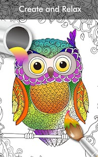 Coloring Book Enchanted Forest Screenshot