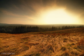 Photo: Sun Rush  My wife and I have just got back from a day out in the Peak District where the day was full of hazy sunshine, we had a nice amble around and I took a few shots, I wanted this because I loved the way the grass seems to be escaping the sun, I had to use a GRD filter because I was shooting into the sun but the mist and haze just didn't seem to lift all day.  I try and limit the amount of images I upload in a day but I feel I may have photo bombed you today for which I apologise. I'm off to relax for the night, see you all in the morning :)
