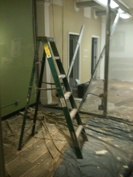 Photo: More demolition.