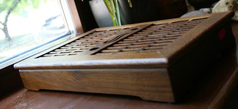"Photo: №5 чабань деревянная ""куриное крыло""размер 35/23цена:850 грн"