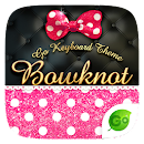 Bowknot GO Keyboard Theme v 3.8