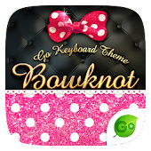 Bowknot GO Keyboard Theme