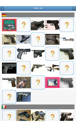 玩免費益智APP|下載Pistols - quiz app不用錢|硬是要APP