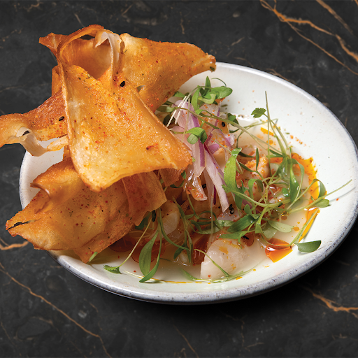 Lychee Ceviche